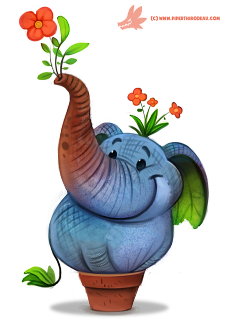 daily_paint__1173__elephlant_by_cryptid_creations-d9qsxv0